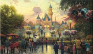 Thomas Kinkade art at Envisions Gallery